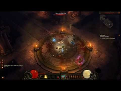 Diablo III Beta 1080P HD Female Monk Full Playthrough