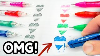 THEN vs NOW! Cool School Supplies You Need To Try 2017! Natalies Outlet