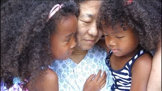 WE CAME TO KOREA! & GRANDPA IN HOSPITAL | Black Korean Family Vlog ep.169
