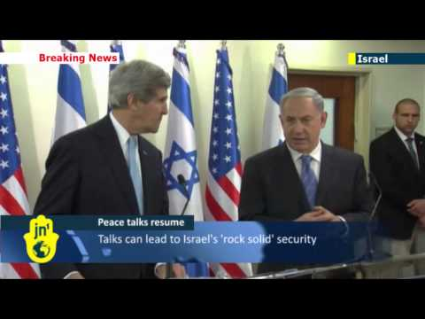 Back in Israel: John Kerry arrives to rejuvenate Middle East talks and lay framework agreement