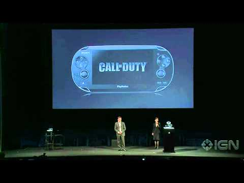 Sony NGP: Call of Duty - Playstation Meeting 2011