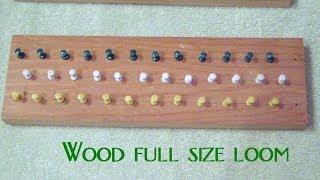 How To Make Homemade Rainbow Loom DIY Wooden Bracelet