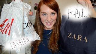 LaurenCocoXO – Herbst & Winter Fashion Haul (Zara, H&M, Mango,Gina Tricot) + Gequatsche