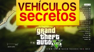 """Localización Vehículos """"secretos"""" GTA V"""