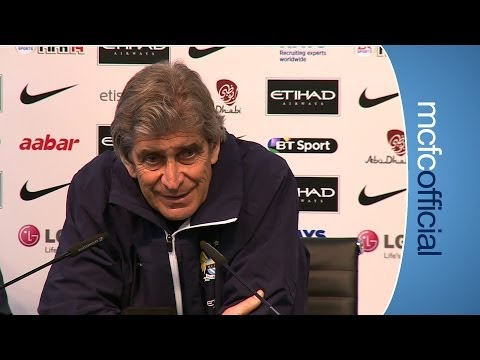 PELLEGRINI ON SOUTHAMPTON City v Southampton press conference part 1