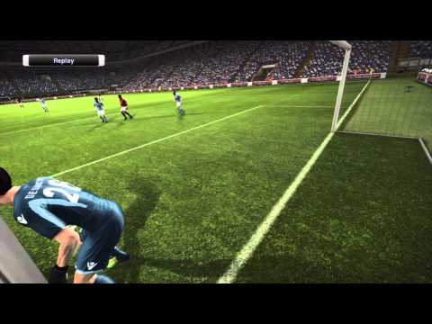PES 2012 Gameplay (PS3) - AC Milan vs Napoli