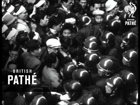 Selected Originals - News Flashes - Tokyo Stock Exchange Riots (1954)