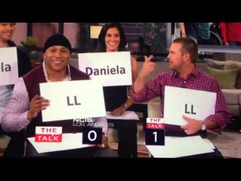 NCIS: Los Angeles Cast play 'How Well You Know Each Other' on The Talk CBS (15-10-2013)