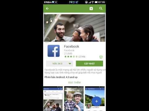 Hướng dẫn cách tải ứng dụng facebook bản cũ trên Appvn