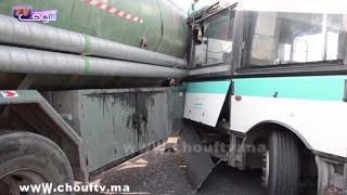 حصاد اليوم: خطير.. فاجعة طانطان كادت أن تتكرر بعين حرودوة بعد تصادم مروع بين حافلة للنقل الحضري وشاحنة لنقل البنزين |