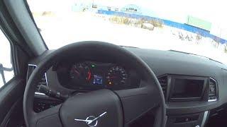 2018 УАЗ Карго Бортовой с тентом POV Test Drive. MegaRetr
