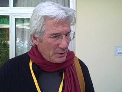 Richard Gere Interview at Mind and Life XVIII