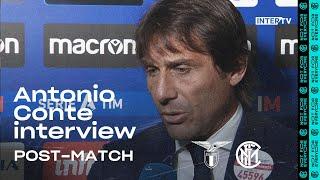 "LAZIO 2-1 INTER | ANTONIO CONTE EXCLUSIVE INTERVIEW: ""We should be conditioning the events""[SUB ENG]"
