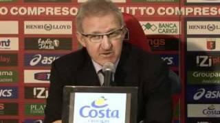 21/11/2010 - Campionato - Genoa-Juventus 0-2, intervista a Del Neri