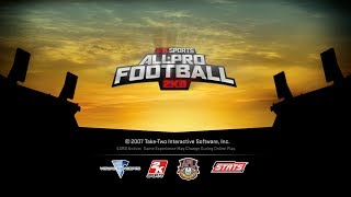 Throwback Thursday (2K Sports All-Pro Football 2K8)