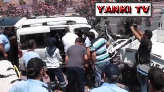 Turgutlu'da trafik kazası : 1 ölü, 2 yaralı
