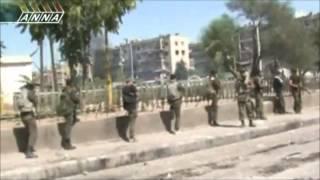 Combates En Damasco (Siria)