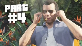 Grand Theft Auto 5 Gameplay Walkthrough Part 4 Father