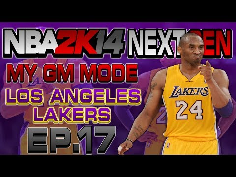 NBA 2K14 Next Gen My GM Mode Ep.17 - Los Angeles Lakers | KOBE WINS MVP | Xbox One Gameplay