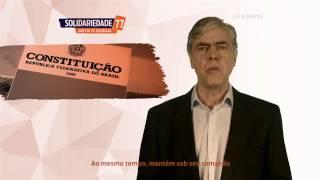 Propaganda partidária do Deputado Augusto Carvalho