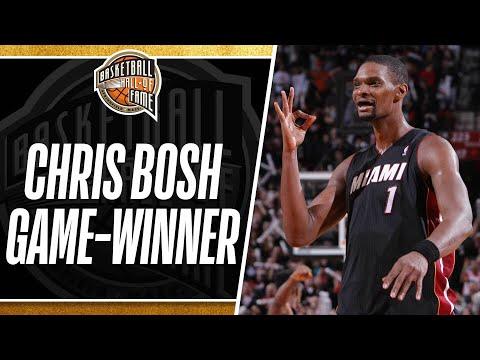 Chris Bosh Hits the Game-Winning 3-Pointer to Beat the Blazers!