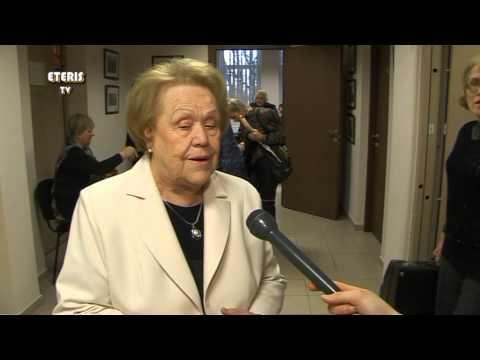 ETERIS TV 2014.01.28 Prienuose paminėtas poetės Stefos Juršienės jubiliejus