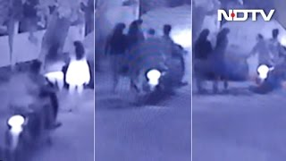 Bengaluru Woman Groped By Biker, Shows CCTV Footage..