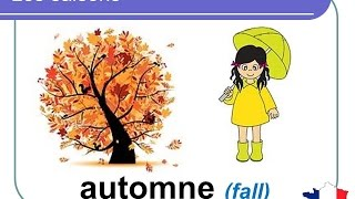 French lesson 8 - Les saisons (The seasons in French) Las estaciones Cursos Clases de Frances