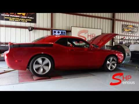 SRT8 Challenger Camshaft CAI Headers Tuned CMR by Serious HP 441rwhp