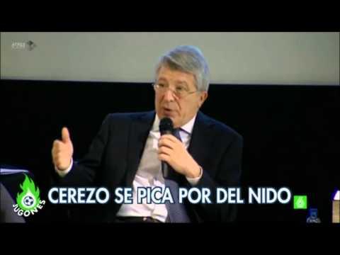 Enrique Cerezo defiende indulto del nido en rueda de prensa.