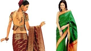 HOW TO WRAP A SARI AND WEAR IT