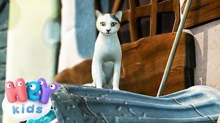 Песни Для Детей - Кот усатый, озорной Скачать клип, смотреть клип, скачать песню
