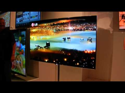 LG 55-inch OLED HDTV At CES 2012
