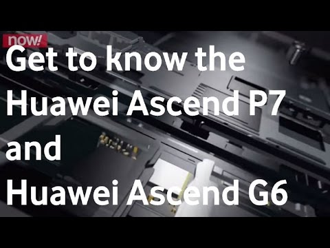 Vodacom Now! Trending Tech Episode 5: Huawei Ascend P7 & Huawei Ascend G6