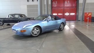 Porsche 968 Convertible Full Tour with Startup Sound