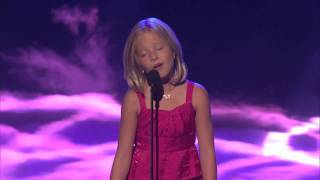 Jackie Evancho 10 Ans Chante A Americas Got Talent HD