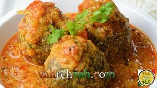 Dahi Masala Hara Kofta Curry..