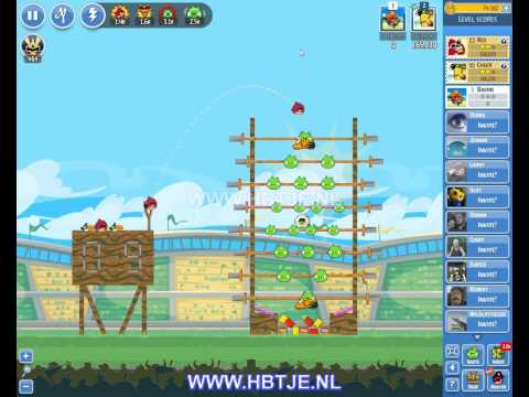 Angry Birds Friends Tournament Level 1 Week 108 (tournament 1) no power-ups
