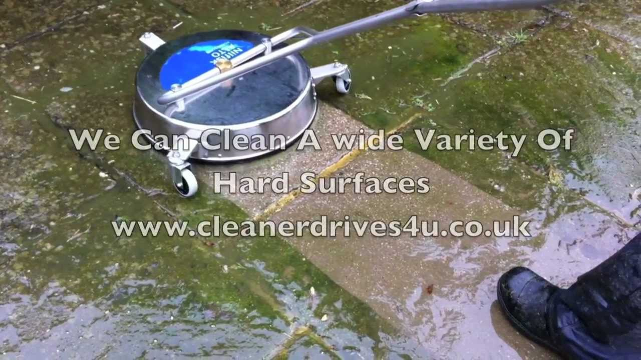 Driveway cleaning dartford youtube for Driveway cleaning chemicals