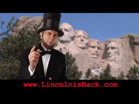 Lincoln's Ghost Haunts Mt. Rushmore -