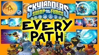 All Skylanders Swap Force Upgrade Paths For Wave 1 Bottoms