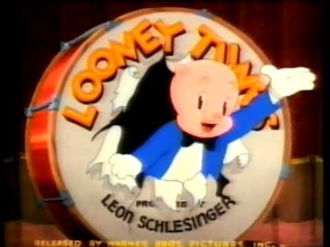 porky pig thats all folks 1940 original in color