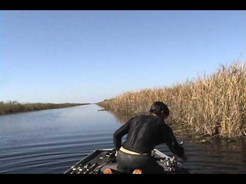 Un pêcheur fini à l'eau le jour de noël