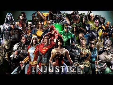 Кто есть кто в Injustice: Gods Among Us (файтинг