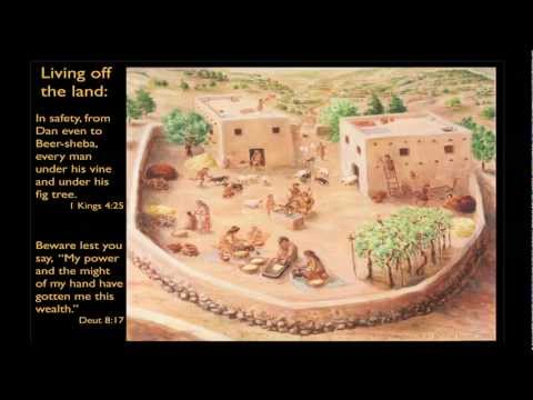 Lecture - Dr John Monson - Physical Theology: The Bible in its Land, Time and Culture