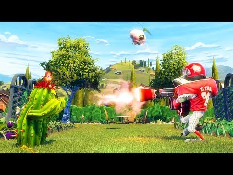Plants Vs. Zombies Garden Warfare: Dronalho, o Drone do C4r4lho - HD gameplay