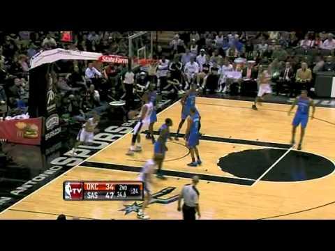 NBA.com Thunder vs. Spurs [02.01.2011]