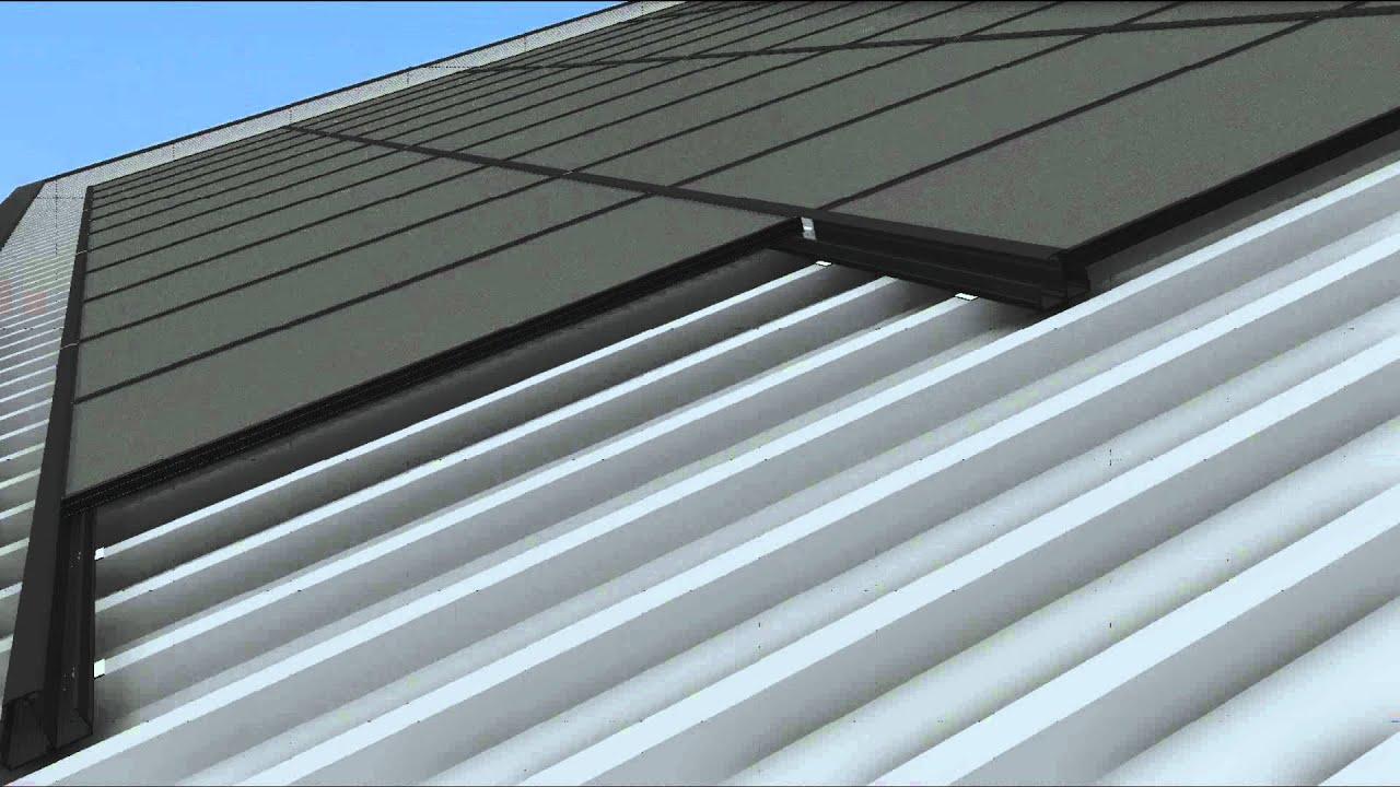 Kalzip Zinc Roofing