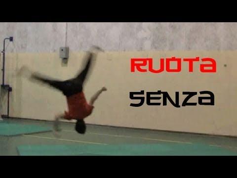 ACROBATICA - Ruota senza mani Tutorial - kung fu