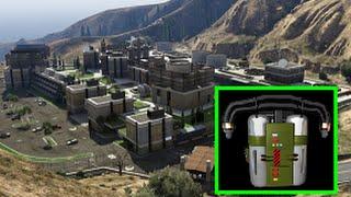 Mysterious Hangar & Under The Humane Labs GTA 5 Jetpack